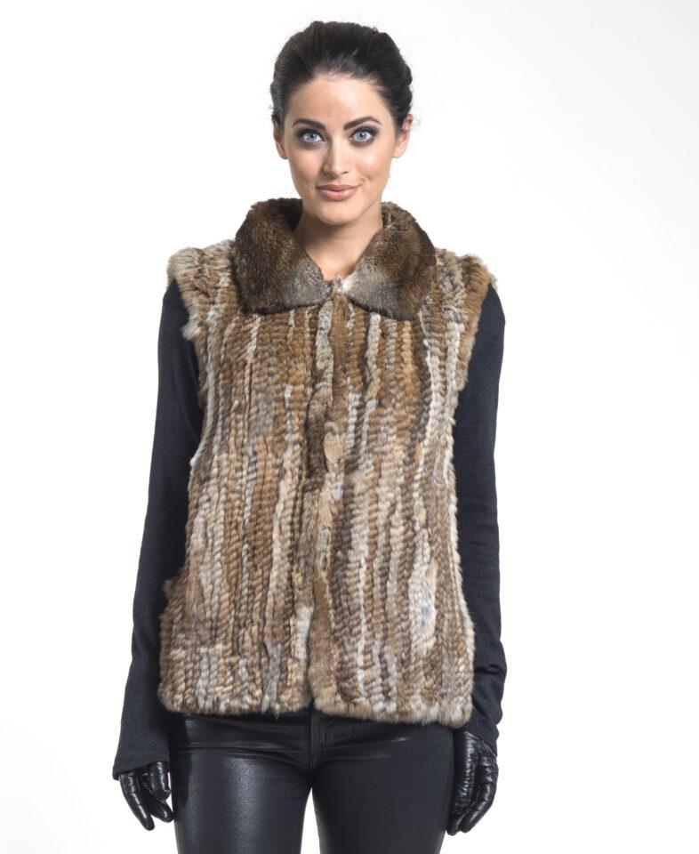 Rabbit Knitted Vest by Michael Kors