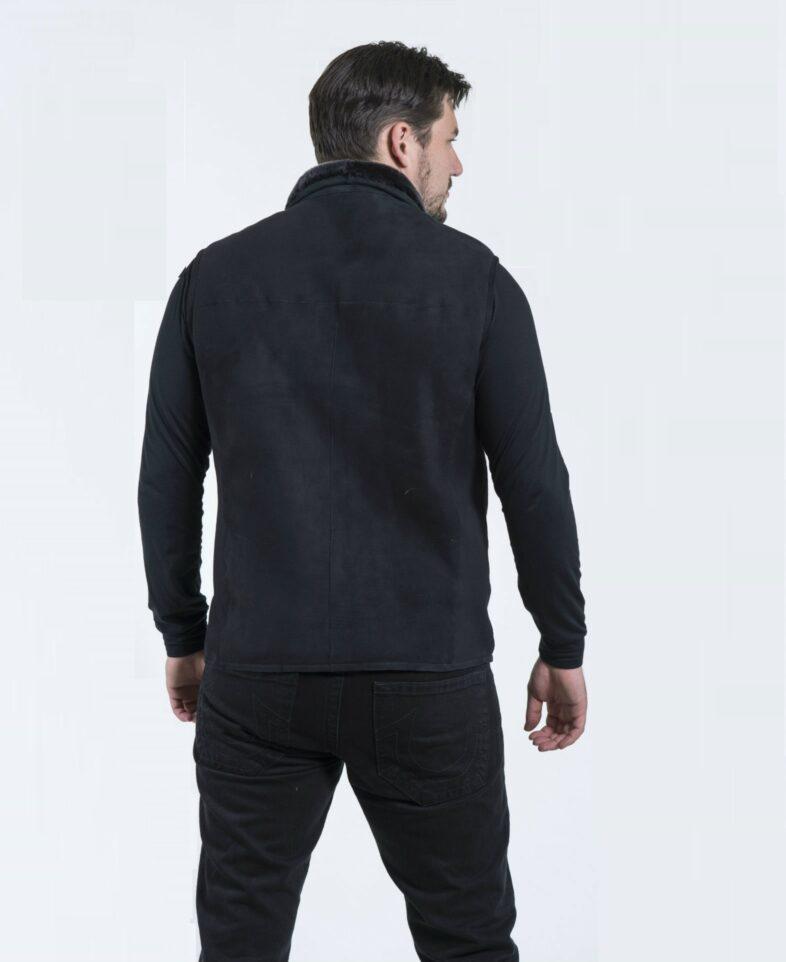 Shearling Merino Vest